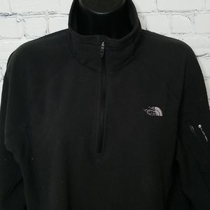 The North Face 1/4 zip flash dry sweater